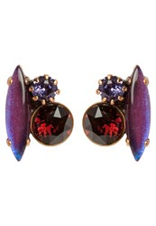 Konplott Fiancee Earrings Lila Antique Purple