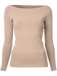 Dion Lee Suspended Blouse Nude Neutrals