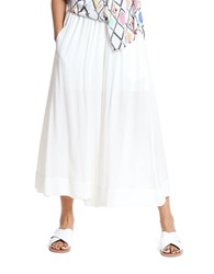 Plenty By Tracy Reese Swingy Culottes White