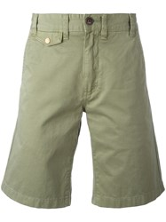 Barbour Neuston Twill Shorts Green