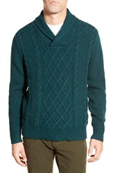 Men's Bonobos Shawl Cable Knit Sweater