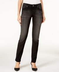 Styleandco. Style Co. Petite Studded Straight Leg Jeans Only At Macy's Black Jewel