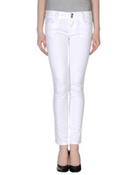 Schumacher Casual Pants White