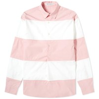 J.W.Anderson Jw Anderson Oversized Panelled Shirt Pink