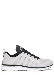 Athletic Propulsion Labs Techloom Pro Two Tone Knitted Trainers Black And White