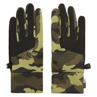 The North Face Green Camo Etip Gloves