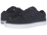 Etnies Barge Ls Navy Gum White Men's Skate Shoes