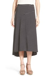 Women's Chaus 'Pool Stripe' Asymmetrical Maxi Skirt