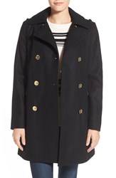 Women's Michael Michael Kors Wool Blend Peacoat