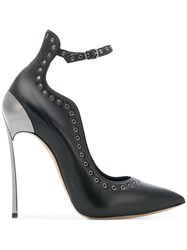 Casadei Techno Blade Pumps Black
