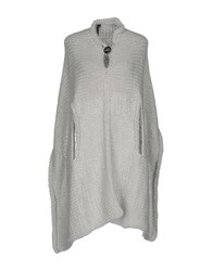 Manila Grace Capes And Ponchos Light Grey