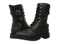 Harley Davidson Balsa Black Women's Lace Up Boots
