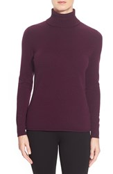 Lafayette 148 New York Cashmere Turtleneck Sweater Roselle