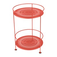 Fermob Guinguette Side Table Poppy