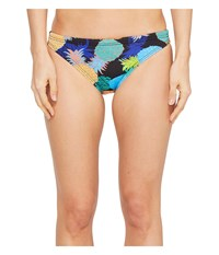 Tyr Panama Bikini Bottom Black Multi Women's Swimwear