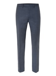 Topman Limited Edition Navy Skinny Fit Suit Trousers Blue