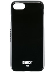 Givenchy Logo Print Iphone 7 Case Black