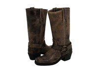 Frye Harness 12R Chocolate Vintage Leather Women's Pull On Boots Brown