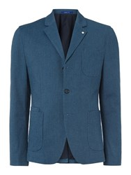 Peter Werth Air Single Breasted Blazer Blue