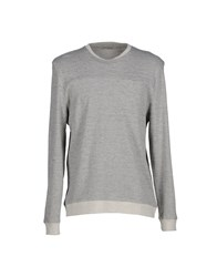 Oliver Spencer Topwear Sweatshirts Men Light Grey