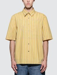 Lanvin Oversized S S Shirt With Chest Pocket