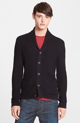 Rag And Bone 'Avery' Shawl Collar Cardigan Black