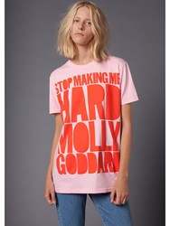 House Of Holland 10Th Anniversary Goddard T Shirt Pink