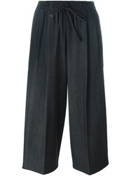 Dusan Cropped Trousers Grey