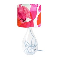 Anna Jacobs Falling Leaves In Autumn Lampshade Red
