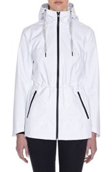 Laundry By Shelli Segal Women's Hooded Active Jacket White