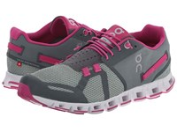 On Cloud Forest Raspberry Women's Running Shoes Gray