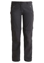 Craghoppers Trousers Charcoal Dark Grey