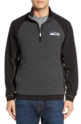 Tommy Bahama Men's 'Nfl Gridiron' Quarter Zip Pullover Seahawks