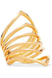 Arme De L'amour Gold Plated Ring Gold