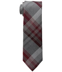 Kenneth Cole Reaction 3 Color Plaid Burgundy Ties