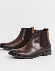 Base London Dolcetta Chelsea Boots In Brown Brown