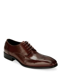 Kenneth Cole Sur Plus Leather Oxfords Tan