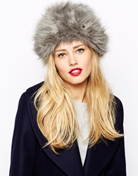 Ted Baker Faux Fur Hat Ash