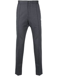 Z Zegna Tapered Trousers Grey