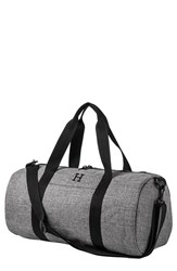 Cathy's Concepts Monogram Duffel Bag Grey Grey H