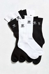 Adidas Cushioned Crew Sock 6 Pack White