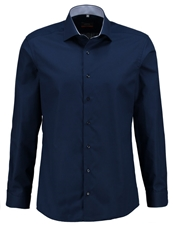 Eterna Slim Fit Formal Shirt Dunkelblau Dark Blue