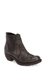 Women's A.S.98 'Cain' Bootie Nero Leather