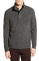 Men's Bonobos 'Donegal' Mock Neck Wool Blend Sweater
