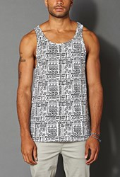 Forever 21 Tribal Print Tank Top