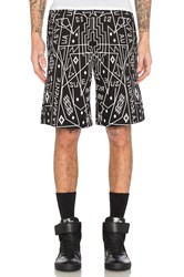 Marcelo Burlon Salomon Shorts Black