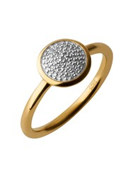 Links Of London Diamond Essentials Pave Ring Ring Size P