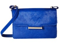 Jason Wu Diane Large Calf Hair Shoulder Bag Lapis Shoulder Handbags Navy