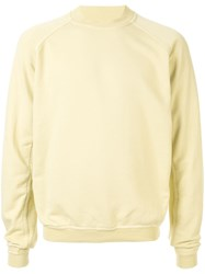 Haider Ackermann Crew Neck Sweatshirt Yellow