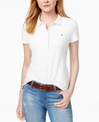 Tommy Hilfiger Core Polo Shirt Only At Macy's White